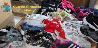 Latina, sequestro marchi contraffatti