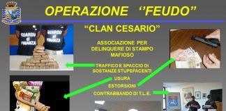 Taranto, operazione Feudo