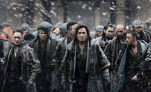 dragon blade - scena film