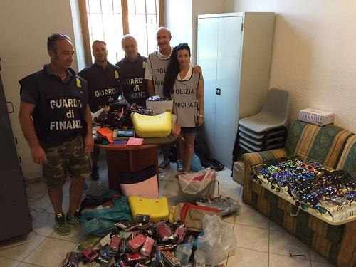 Spezia lotta alla contraffazione