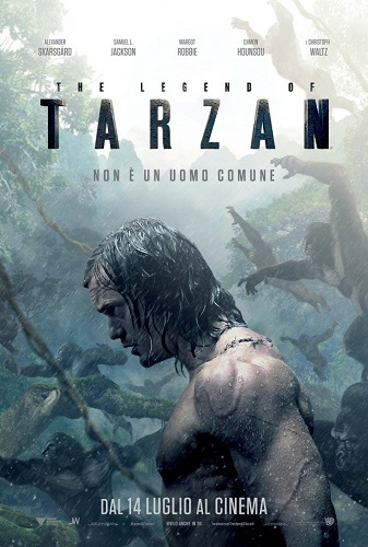 The Legend of Tarzan locandina film italiano