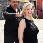 Vicenzo con l'attrice Marilù De Nicola