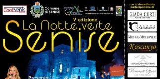 Locandina La Notte veste Senise