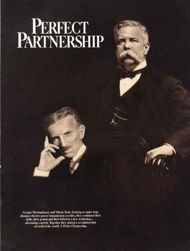 Nikola Tesla e George Westinghouse