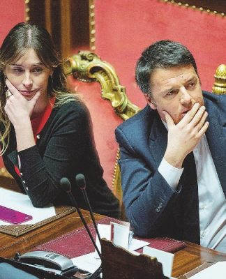 Renzi e Boschi