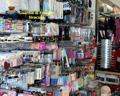 Siracusa sequestro prodotti non sicuri