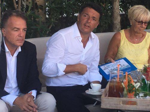 Matteo Renzi incontra i balneatori della Cna
