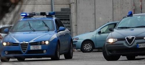 pattuglia polizia operazione Perseo a Catanzaro