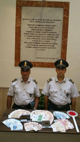 Benevento sequestro droga