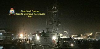 Canale Otranto sbarco migranti