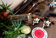 cosenza-armi-sequestrate