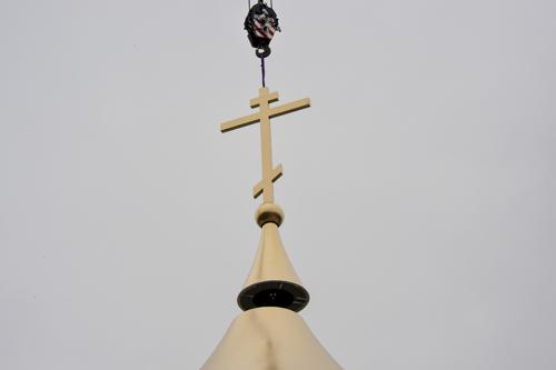 Croce sulla cupola