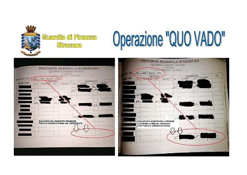 Siracusa operazione Quo Vado