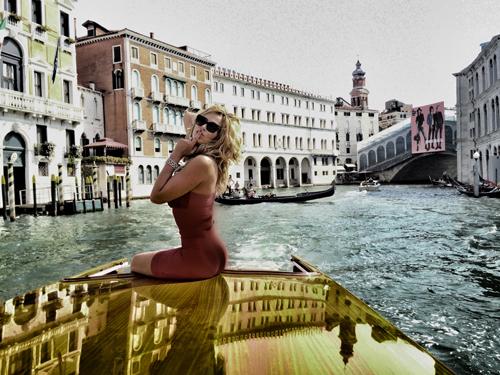 Valeria Marini a Venezia