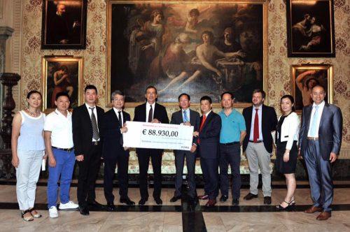 Sisma centro Italia: la comunità cinese di Milano dona 89mila euro