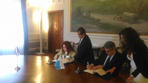 Firmato il Programma di cooperazione culturale e scientifica tra la Repubblica di San Marino e la Repubblica di Cuba