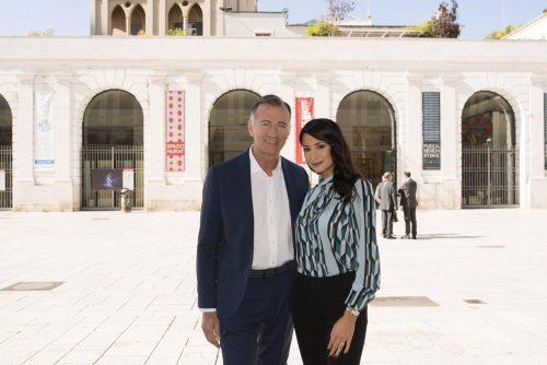 Michele Cucuzza e Mary De Gennaro