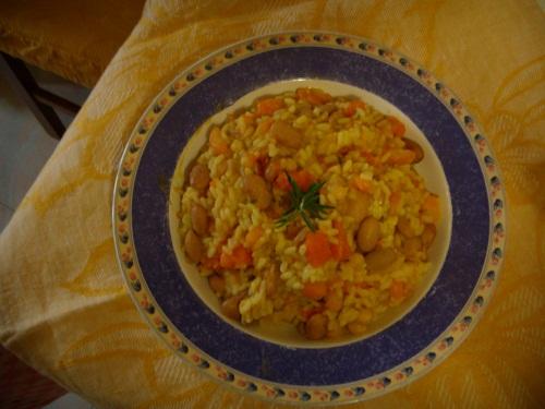 risotto-con-zucca-e-fagioli