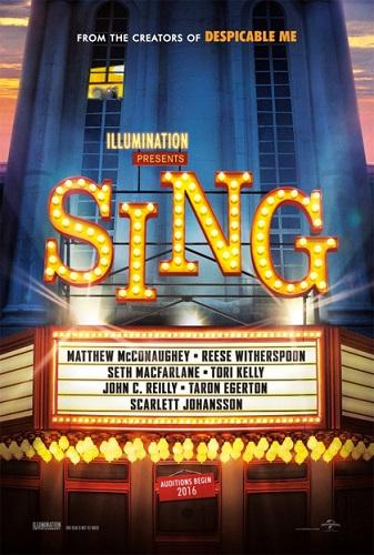 Sing locandina film