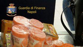 Napoli sequestro cosmetici vietati