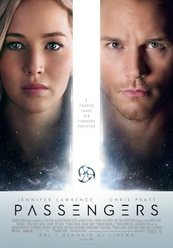 Passengers film locandina italiano