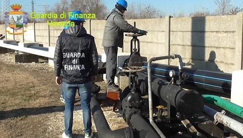 Venezia carburante in frode