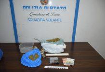 Fermato per un controllo, la polizia gli trova in casa quasi 9.000 grammi di marijuana