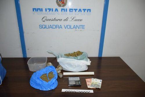 Agrigento, corriere della droga arrestato: in borsa 8 panetti di hashish