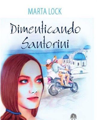 Prima di copertina Dimenticando Santorini