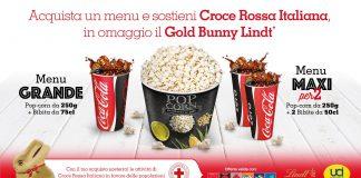 UCI Cinemas e Coca-Cola HBC Italia sostengono le attività di Croce Rossa Italiana