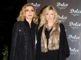Marla Maples con Milly Carlucci