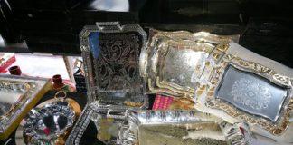 Torino sequestrato falso argento