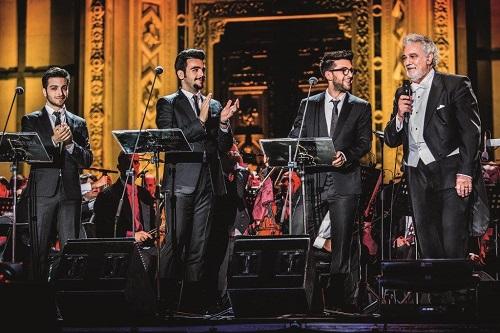 Il Volo torna in Europa con Notte Magica-A Tribute to the three Tenors
