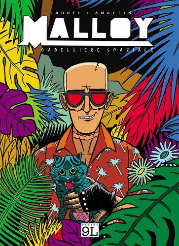 Fumetti: dopo il successo di 'Anubi' arriva 'Malloy - Gabelliere spaziale' di Taddei e Angelini