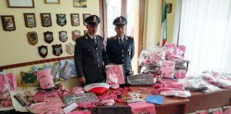 Sassari sequestrati gadget non autorizzati del Giro d'Italia