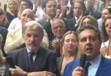Marco Bucci nuovo sindaco di Genova a con Toti