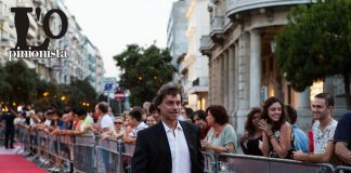 Alberto Angela red carpet al Premio Flaiano 2017