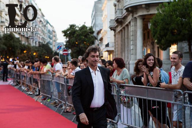 Alberto Angela red carpet al Premio Flaiano 2017
