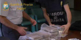 Cagliari maxi sequestro droga