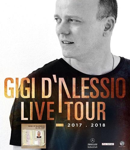 Gigi D'Alessio Live Tour 2017