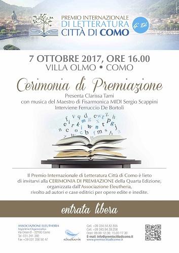 Premio letteratura Como 2017