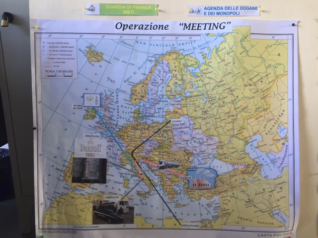 Rieti, Operazione Meeting: 8 misure di custodia cautelare