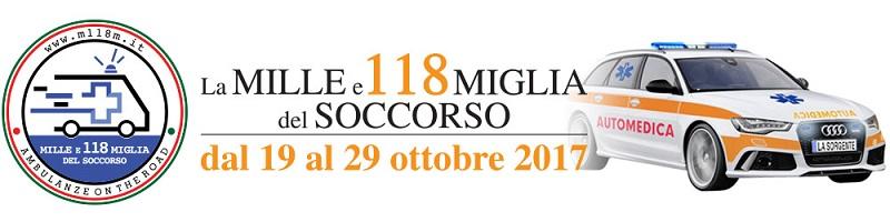 La Mille e 118 Miglia del Soccorso al via dal 19 ottobre la prima edizione