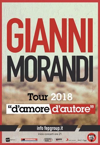 D'Amore d'autore Tour 2018