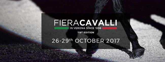 Fieracavalli 2017: a Veronafiere dal 26 al 29 ottobre la 119ma edizione
