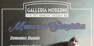 Locandina Memories Storyteller - Domenico Ruccia