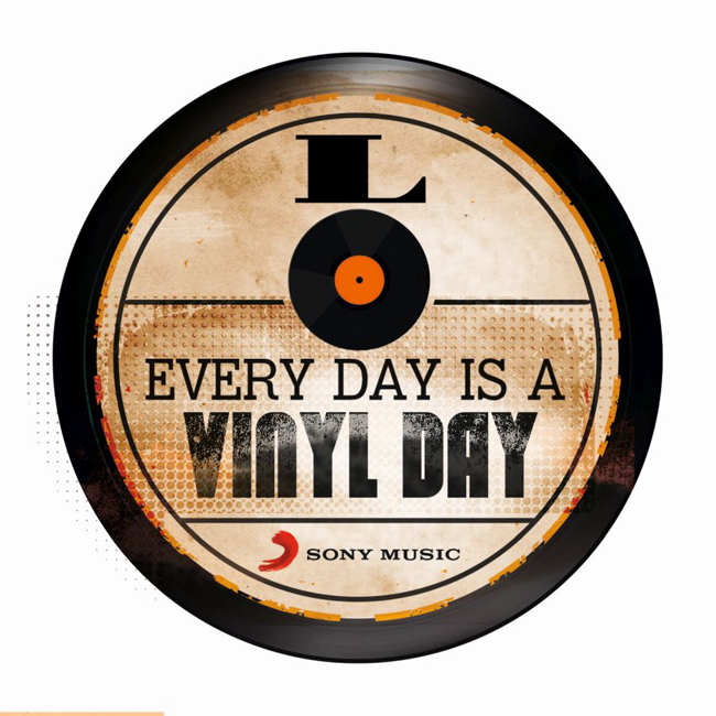 SONY EVERY DAY IS A VINYL DAY