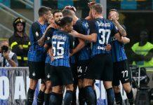 Inter gol contro Fiorentina