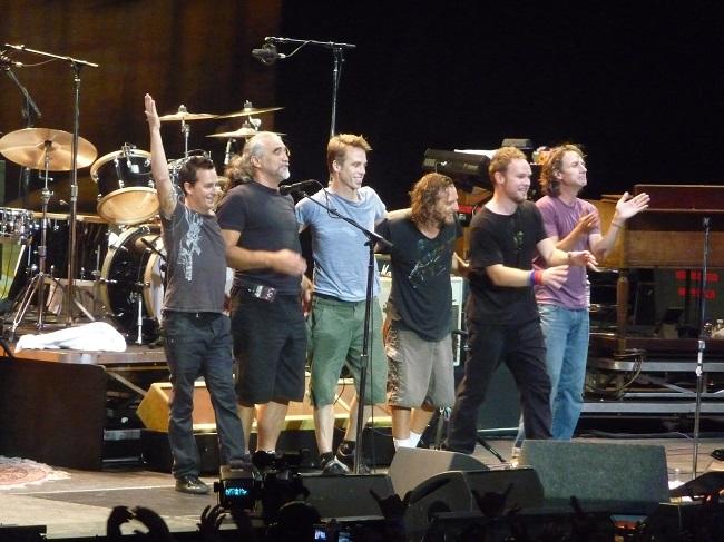 Pearl Jam, tre concerti in Italia! 1-12