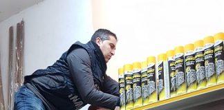 Torino, deposito clandestino fuochi